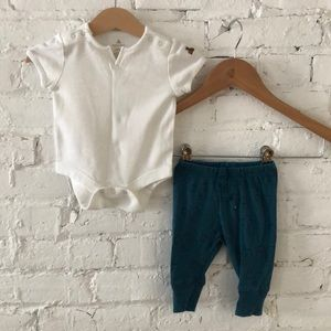 GAP onesie And Squirrel Pant Set